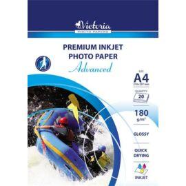 """Fotópapír, A4, 180 g, fényes, tintasugaras, 1 ív, """"Advanced"""""""