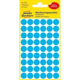 Avery 3142 12mm 270db-os kék jelölőpont