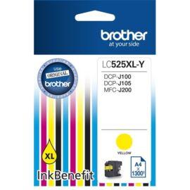 Brother LC525XLY sárga tintapatron