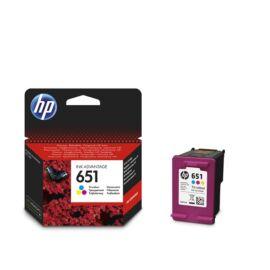 HP C2P11AE (651) háromszínű tintapatron