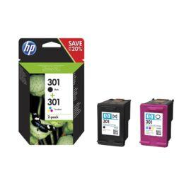 HP N9J72AE 301 tri-color és fekete tintapatron csomag