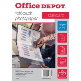 Office Depot Standard A4 180g fényes 100db fotópapír