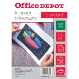 Office Depot Standard A4 180g matt 100db fotópapír
