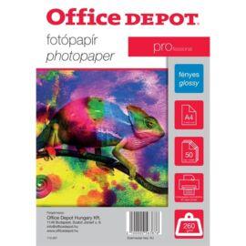 Office Depot Pro A4 260g fényes 50db fotópapír