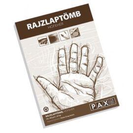 Pax A4 20 ív/tömb hófehér rajztömb