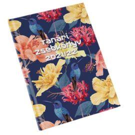 Realsystem virágmintás tanári zsebkönyv