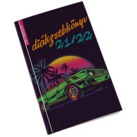 Realsystem autó diák zsebkönyv