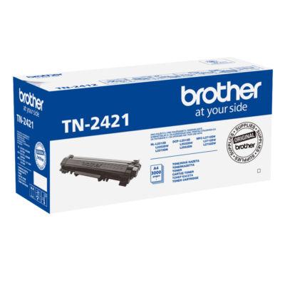 TN2421 TN-2421 3.000 oldalas eredeti laser toner HL-2312D HL-2352DW HL-2372DN MFC-L2712DN MFC-L2712D