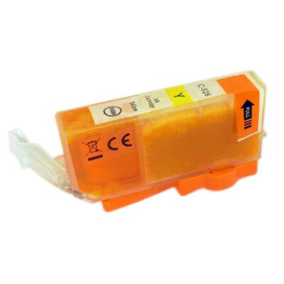 CLI-526Y utángyártott festékpatron - QP + chip! IP4850 IX6550 MG5150 MG5250 MG6150 MG8150 MG5350