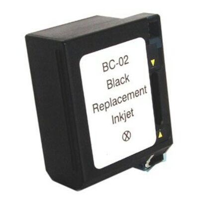 BC-02 fekete festékpatron - utángyártott EZ 30ml