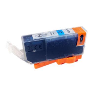 CLI-526C utángyártott festékpatron - PQ + chip! IP4850 IX6550 MG5350 MG5150 MG5250 MG6150 MG8150