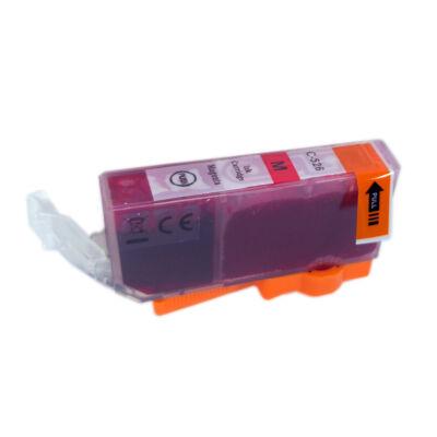 CLI-526M utángyártott festékpatron - PQ + chip!  IP4850 MG5350 MG5150 MG5250 MG6150 MG8150 MX885