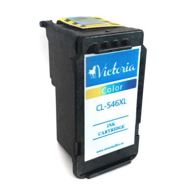 CL-546XL CL546XL utángyártott VI színes festékpatron MX495 IP2850 MG2450 MG2550 MG2950 kb. 300 oldal