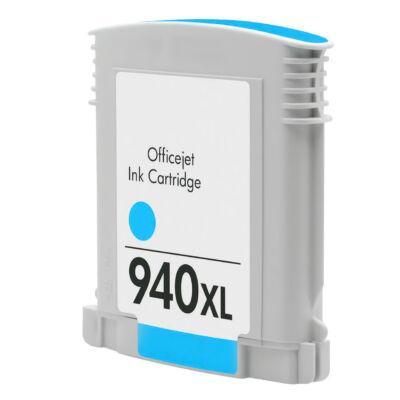 940XL (C4907A) cyan chipes patron - utángyártott NN, kb. 1600 oldalhoz