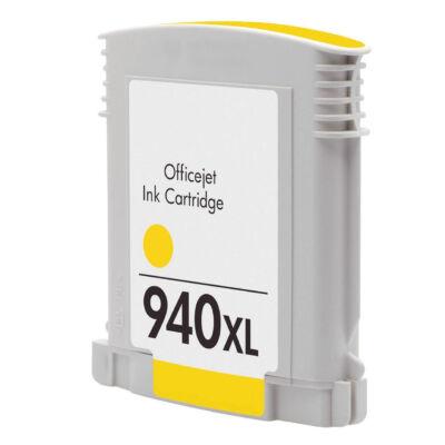 940XL (C4909A) yellow chipes patron - utángyártott NN, kb. 1600 oldalhoz