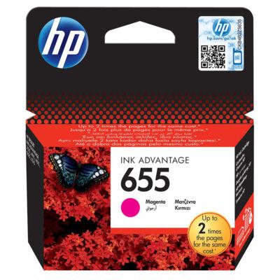 655 magenta CZ111AE festékpatron - eredeti Deskjet Ink Advantage 3520, 3525, 4610, 4615, 4620, 4625,