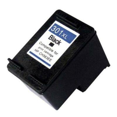301XL (CH563E) fekete festékpatron - utángyártott QP