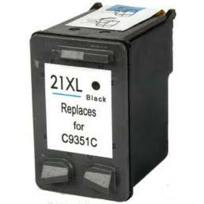 21XL (C9351A) fekete patron - utángyártott EZ 20ml