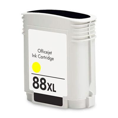 88XL (C9393A) yellow patron - utángyártott EZ 17ml