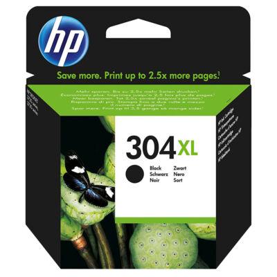 304XL N9K08AE fekete, eredeti festékpatron HP DeskJet 2620, 2630, 2632, 3720, 3730