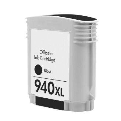 940XL (C4906A) fekete chipes patron - utángyártott DT, kb. 2500 oldalhoz
