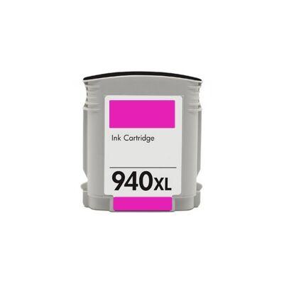 940XL (C4908A) magenta chipes patron - utángyártott DT, kb. 1600 oldalhoz