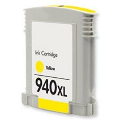 940XL (C4909A) yellow chipes patron - utángyártott DT, kb. 1600 oldalhoz