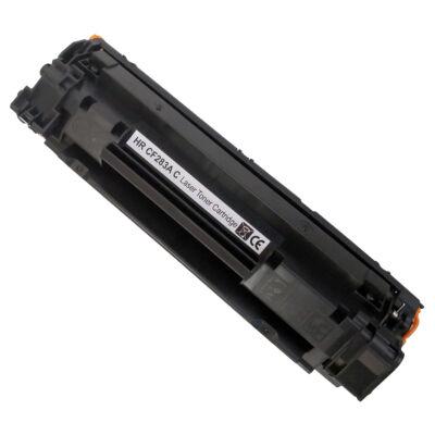 83A CF283A fekete toner - prémium utángyártott chipes DT M125a/M125nw/M127fn/M127fw/M225dn/M225dw