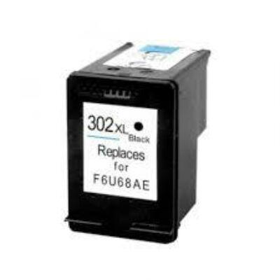 302XL F6U68AE fekete, nagy kapacitású utángyártott PQ festékpatron Deskjet 2130 1110 3630 3830 4650