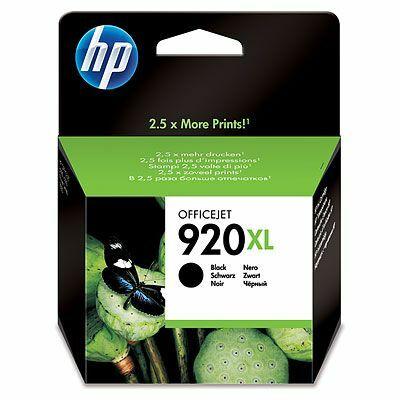 920XL (CD975A) fekete patron - eredeti OfficeJet 6000 6500 7000