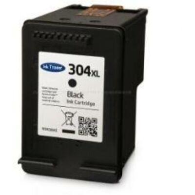 N9K08AE 304XL fekete, utángyártott festékpatron VI HP DeskJet 2620, 2630, 2632