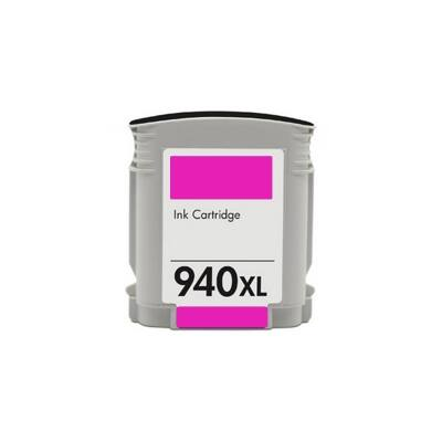 940XL (C4908A) magenta chipes patron - utángyártott PQ, kb. 1600 oldalhoz