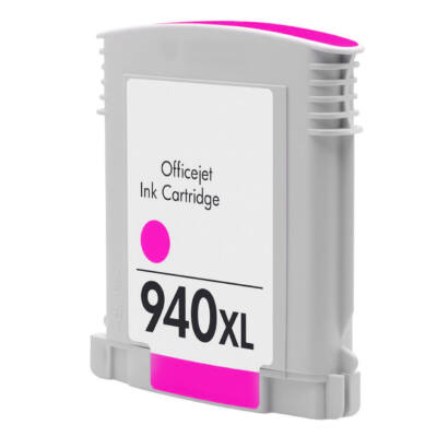 940XL (C4908A) magenta chipes patron - utángyártott VI, kb. 1600 oldalhoz