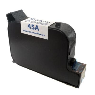 45 (51645A) fekete patron - utángyártott VI 42ml