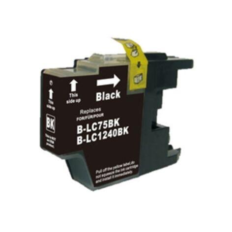 LC1240, LC1280XL Bk fekete festékpatron, utángyártott, QP