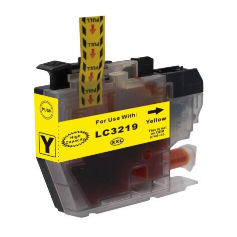 LC3217, LC3219XL Y sárga festékpatron, utángyártott