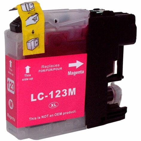 LC123M magenta utángyártott festékpatron, PQ