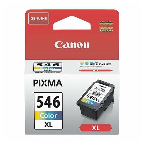 CL-546XL CL546XL eredeti színes festékpatron MX495 IP2850 MG2450 MG2550 MG2950 kb. 300 oldal