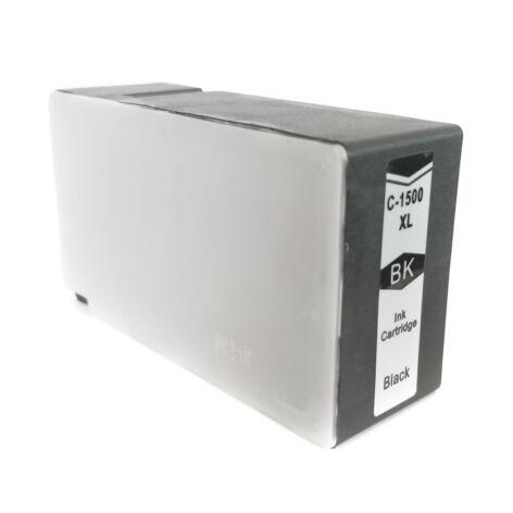 PGI-1500XL Bk fekete festékpatron, utángyártott