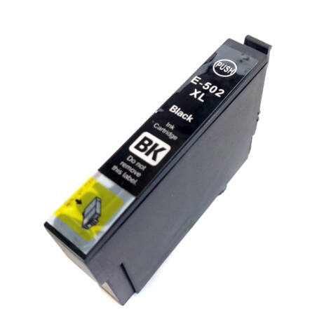 502XL Bk C13T02W14010 T02W1 - utángyártott festékpatron 18,2ml WF-2860DWF WF-2865DWF XP-5100 XP-5105