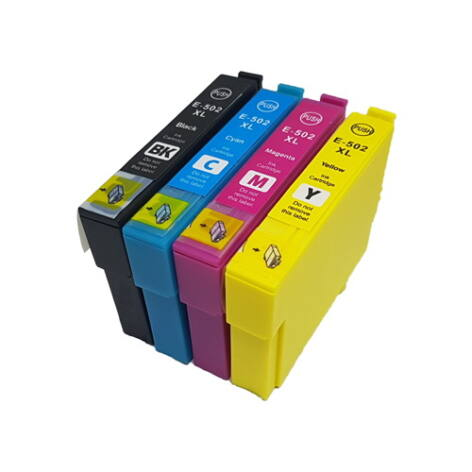 502XL Bk/C/M/Y C13T02W64010 - utángyártott multipack 18,2+3*14ml XP-5105 XP-5100 WF-2860DWF