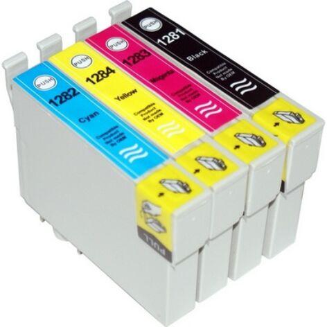 T1285 (T1281+T1282+T1283+T1284) multipakk festékpatron csomag-utángyártott PQ 58ml