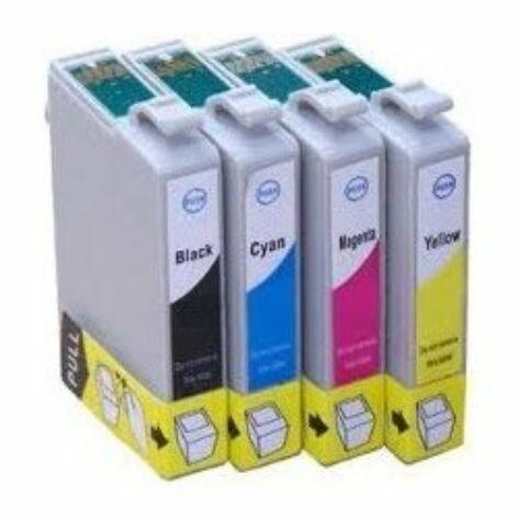 T1285 (T1281+T1282+T1283+T1284) 4 db-os festékpatron csomag, utángyártott, QP