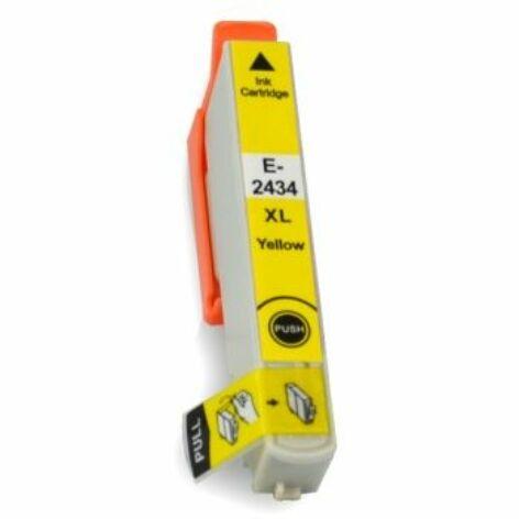 T2424   T2434 yellow festékpatron, utángyártott, PQ