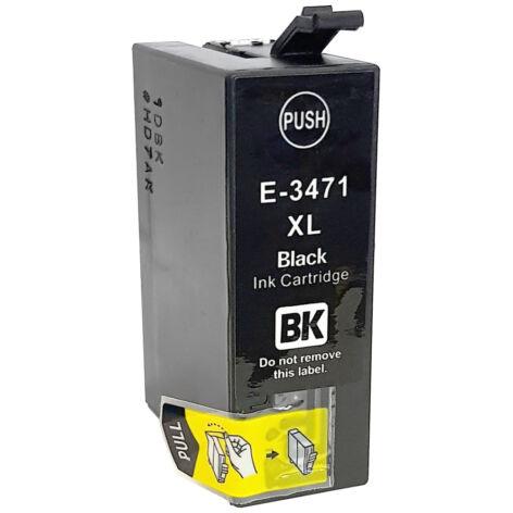 34XL black festékpatron, utángyártott, EZ (C13T34714010)