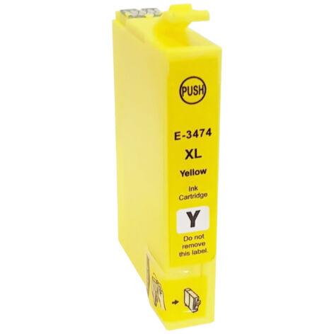 34XL yellow festékpatron, utángyártott, EZ (C13T34744010)