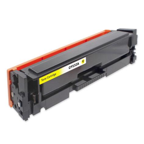 205A (CF532A) yellow toner, utángyártott, chipes, QP/NN, 900 oldal, LaserJet Pro MFP M180n, M181fw