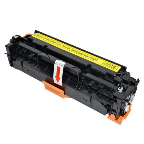 CE412A   CF382A   CC532A   CRG-318Y yellow toner, utángyártott, PQ, 2.2k, M375, M351, M451, M475