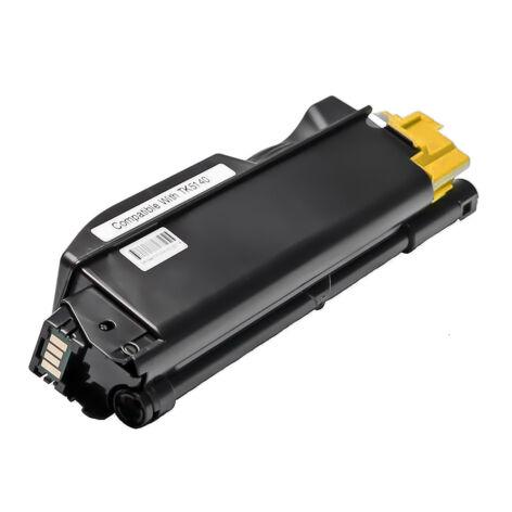 TK-5140Y yellow toner, utángyártott, chipes, EZ/NN, 5.0k, ECOSYS P6130cdn, M6030cdn, M6530cdn
