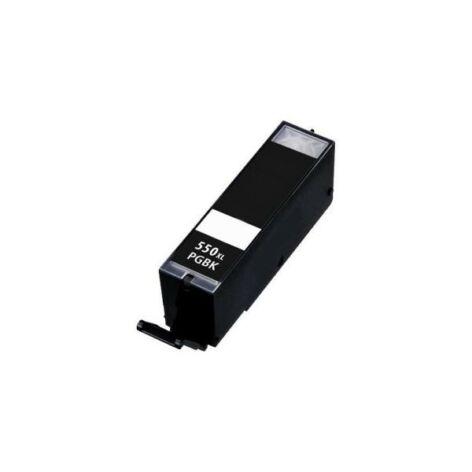 PGI-550XL Bk nagykapacitású (22ml!) +chip utángyártott QP festékpatron IP7250/MG5450/6350/5550/5650